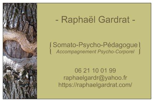Carte Raphaël Gardrat
